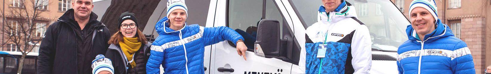Menevästä Suomen Paralympiakomitean yhteistyökumppani